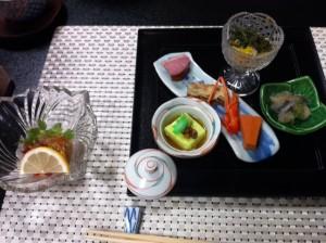 山水館の食事