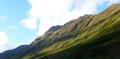 スコットランドの田舎風景
