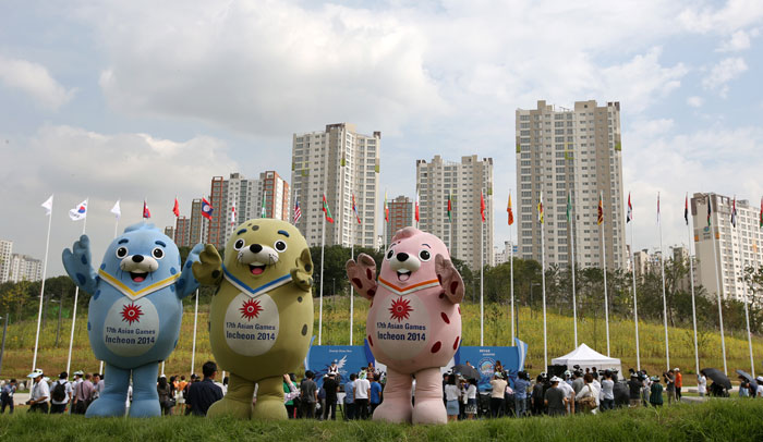 アジア大会の選手村