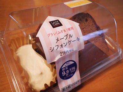 ローソン・メープルシフォンケーキ