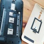 zenfone2でのSimカードの入れ方取り付け方&sim設定の方法
